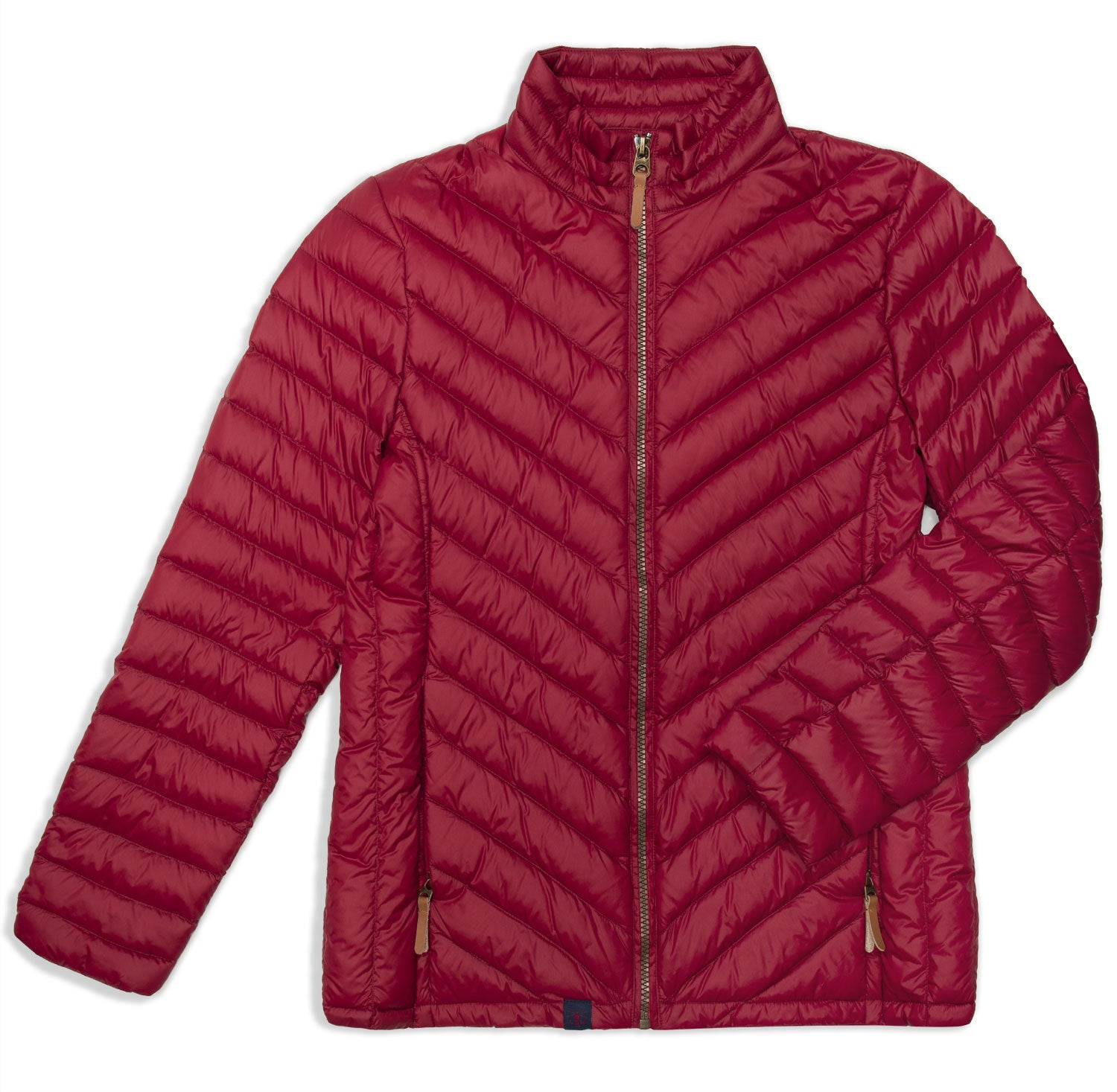 Lighthouse Lara Down Jacket | Deep Red