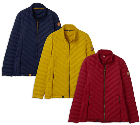 Lighthouse Lara Down Jacket | Three Colours