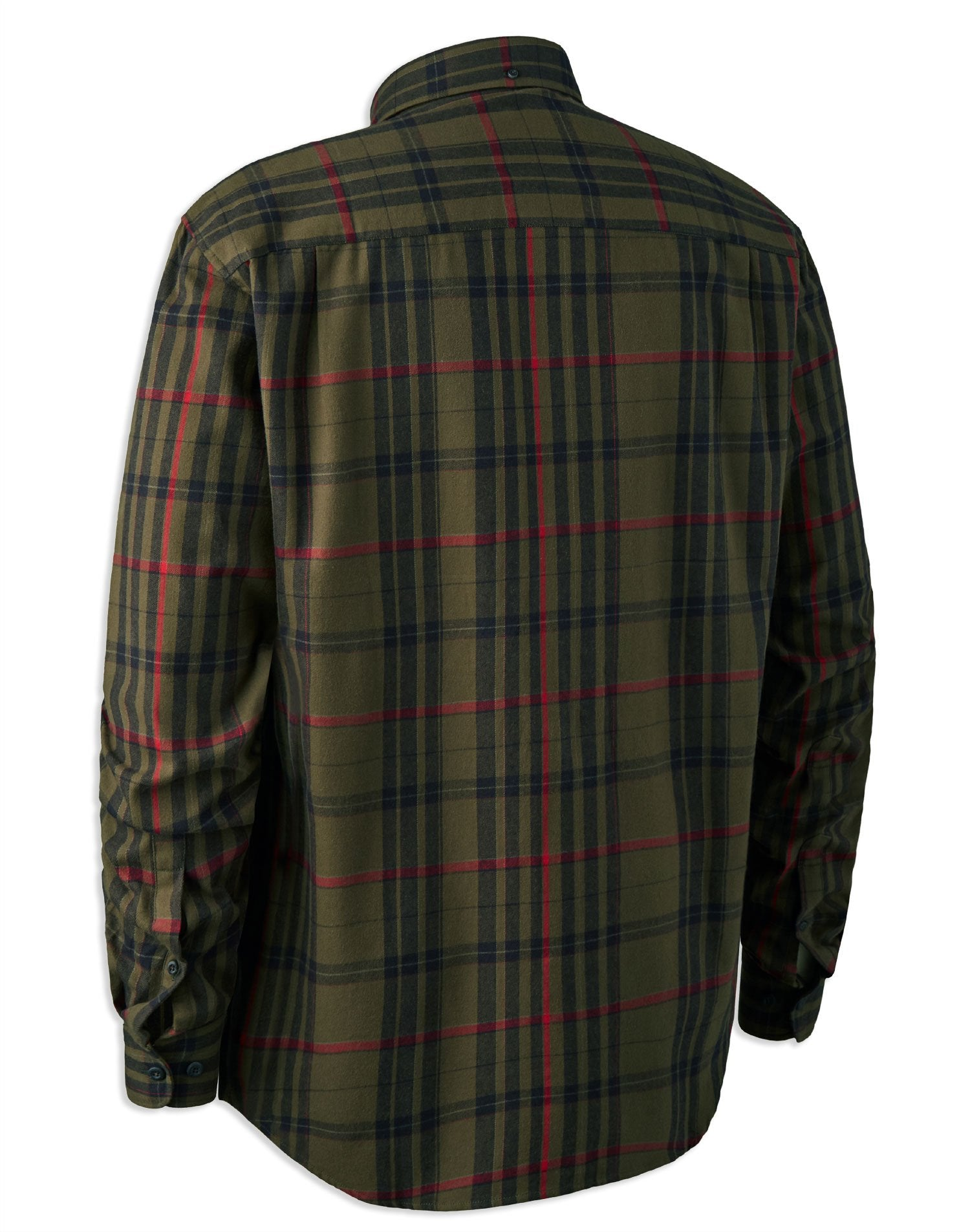 Deerhunter Larry Check Shirt Back View