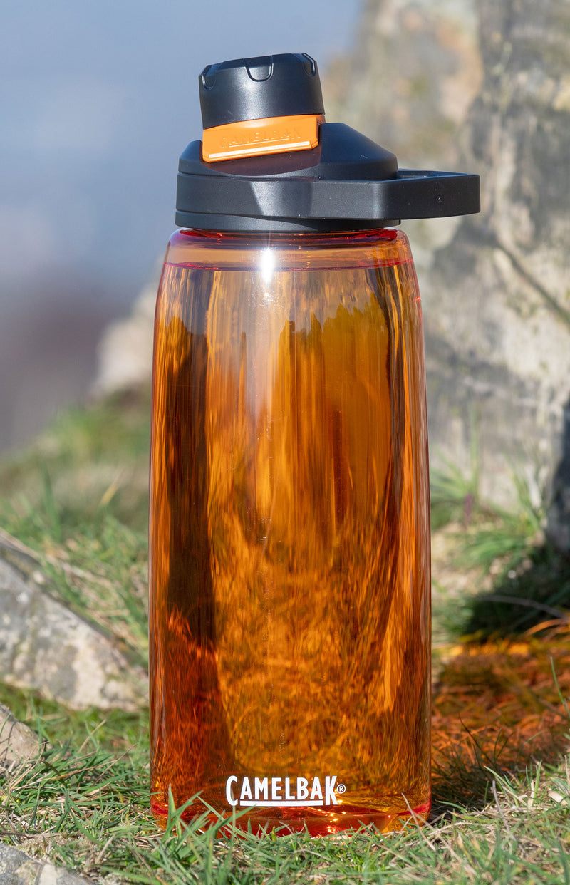 Orange Lave Chute Mag CamelBak Water Bottle