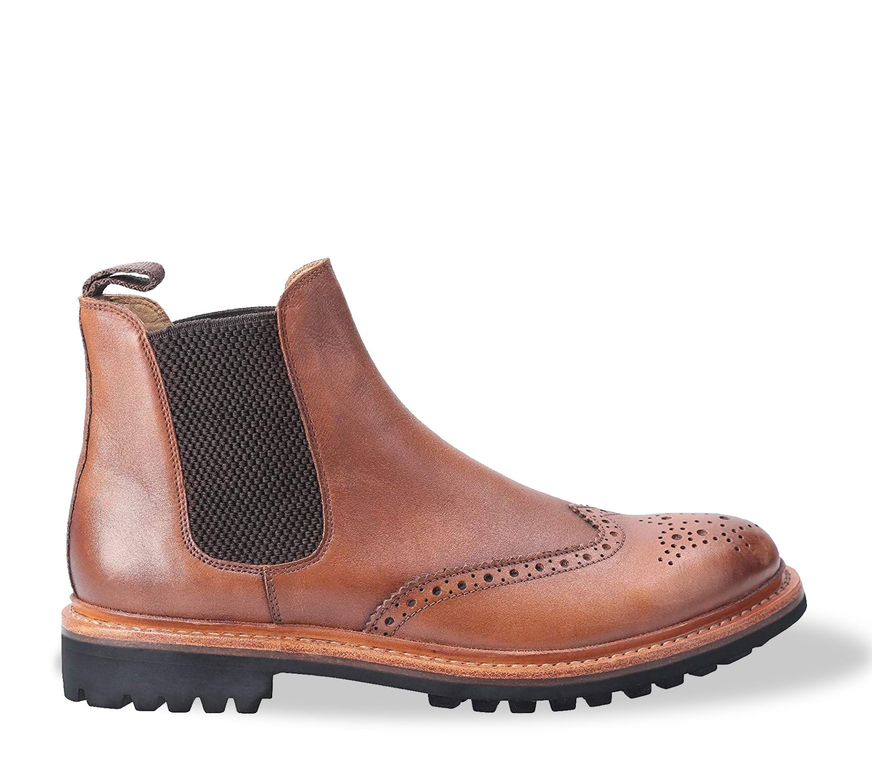 Cotswold Siddington Commando Brogue Chelsea Boot