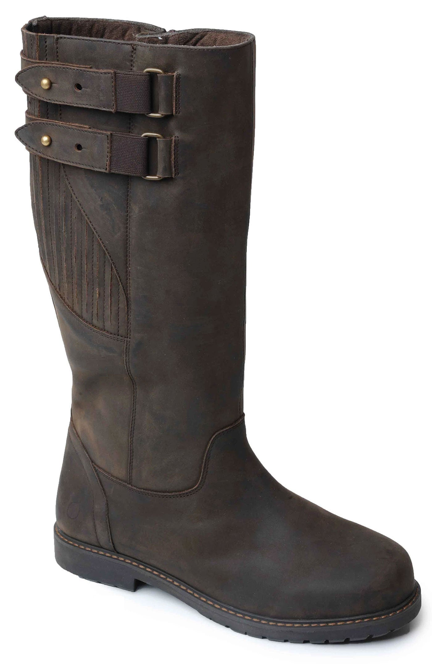 Woodland Men's Leather High Leg Country Boots