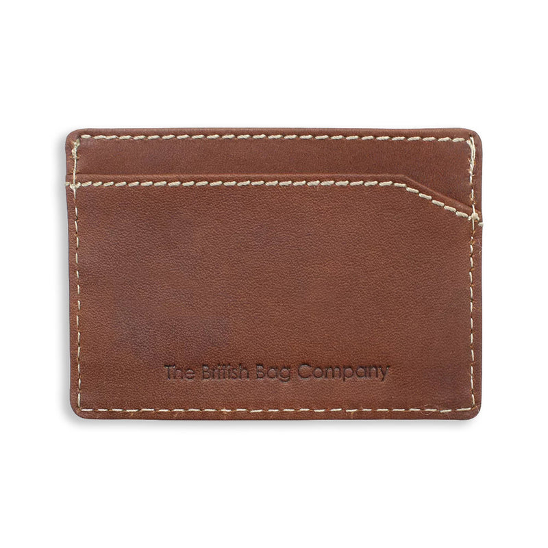 Wallet cand holder brown