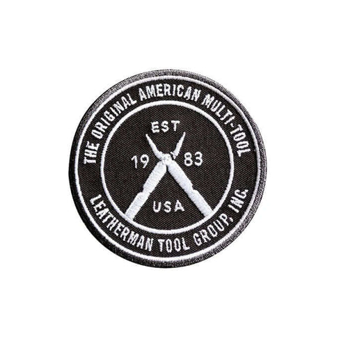 Leatherman Heritage Logo Patch | Black