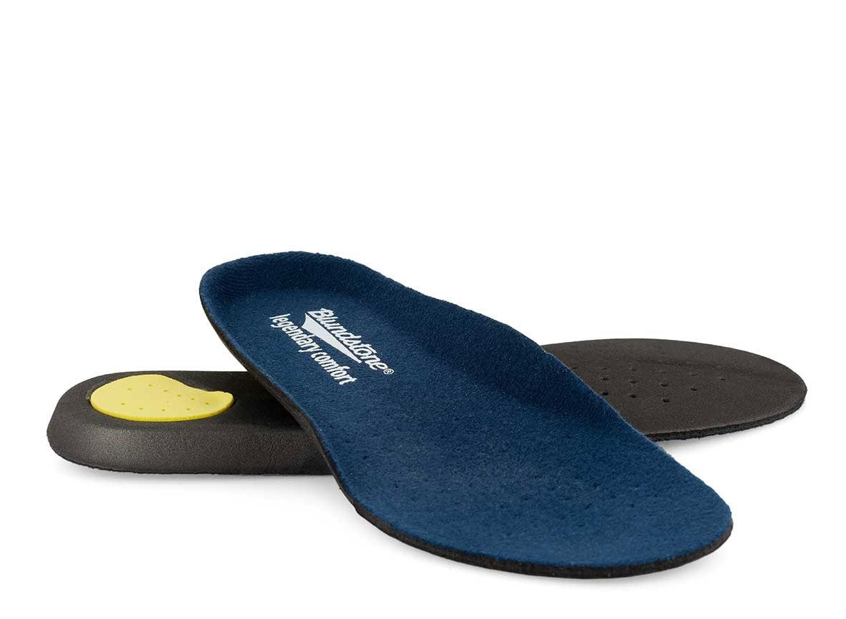 Removable Blundstone 'Legendary Comfort' insole and a cushioned mid sole