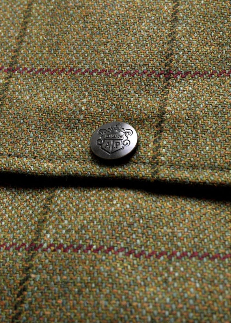 Alan Paine Branded Tweed stud