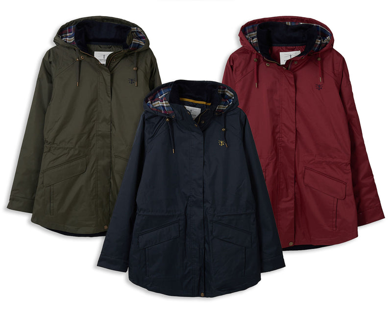Lighthouse Kendal Waterproof Coat | Berry, Forest, Nightshade