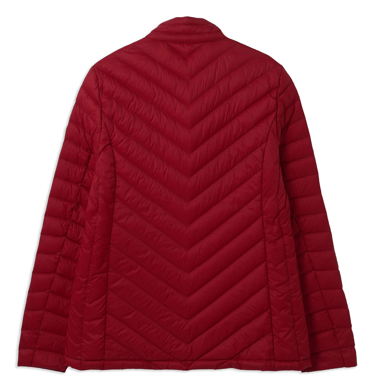 Red Ladies Lara Quilted Down Jacket by Lighthouse