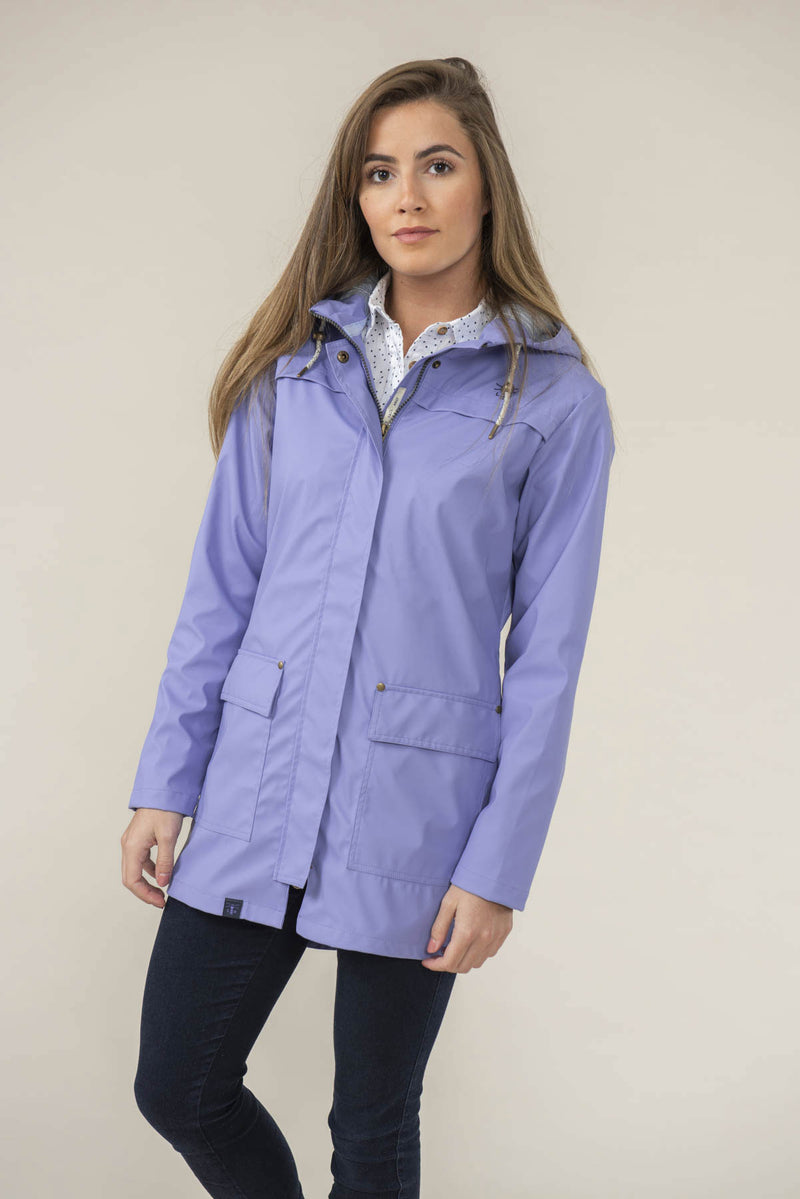 Lilac Lighthouse Bowline Rubberised Jacket SS19