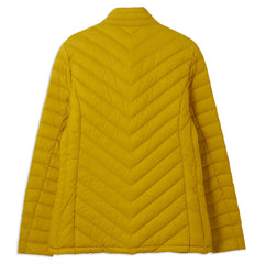 Sun yellow Ladies Lara Quilted Down Jacket by Lighthouse