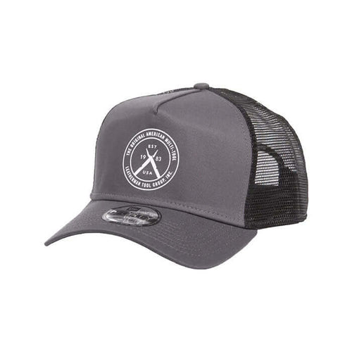 Leatherman Trucker Cap Grey Mesh Back