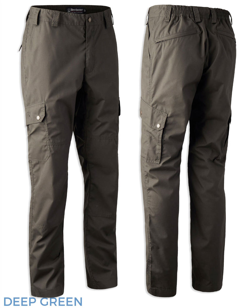 Deerhunter Lofoten Trousers |  Deep Green
