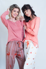 Lucy Ladies Pyjama Set by Hartwell