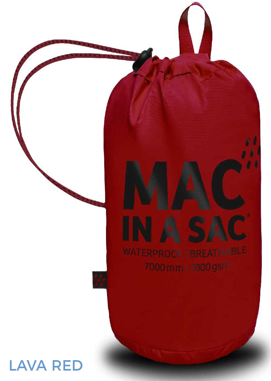 Lava Red Waterproof Stowing Sack