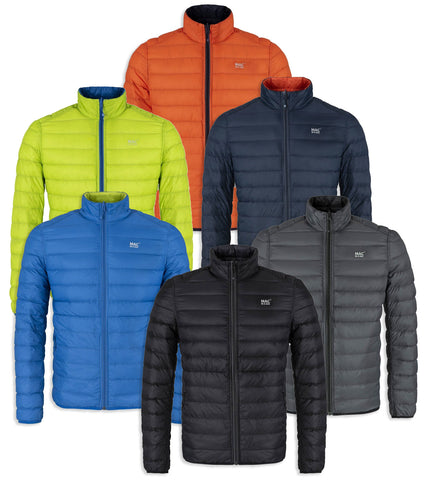 Mac in a Sac - Men's Reversible Polar Packable Down Jacket in three colours