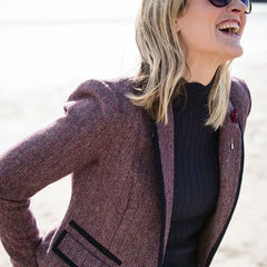 Margot Ladies Tweed Blazer Jacket by Jack Murphy