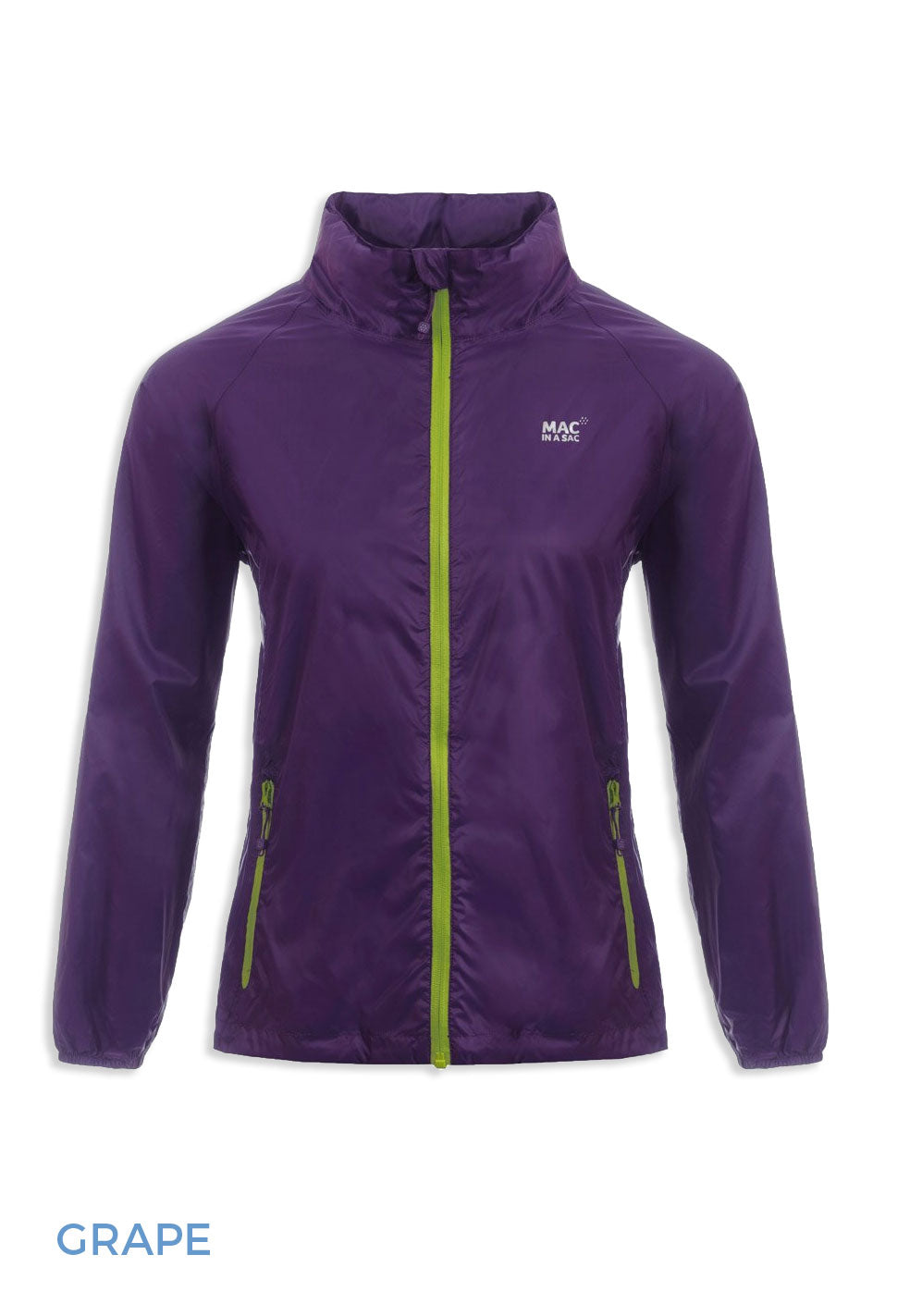 Grape Packaway Waterproof Jacket by Lighthouse