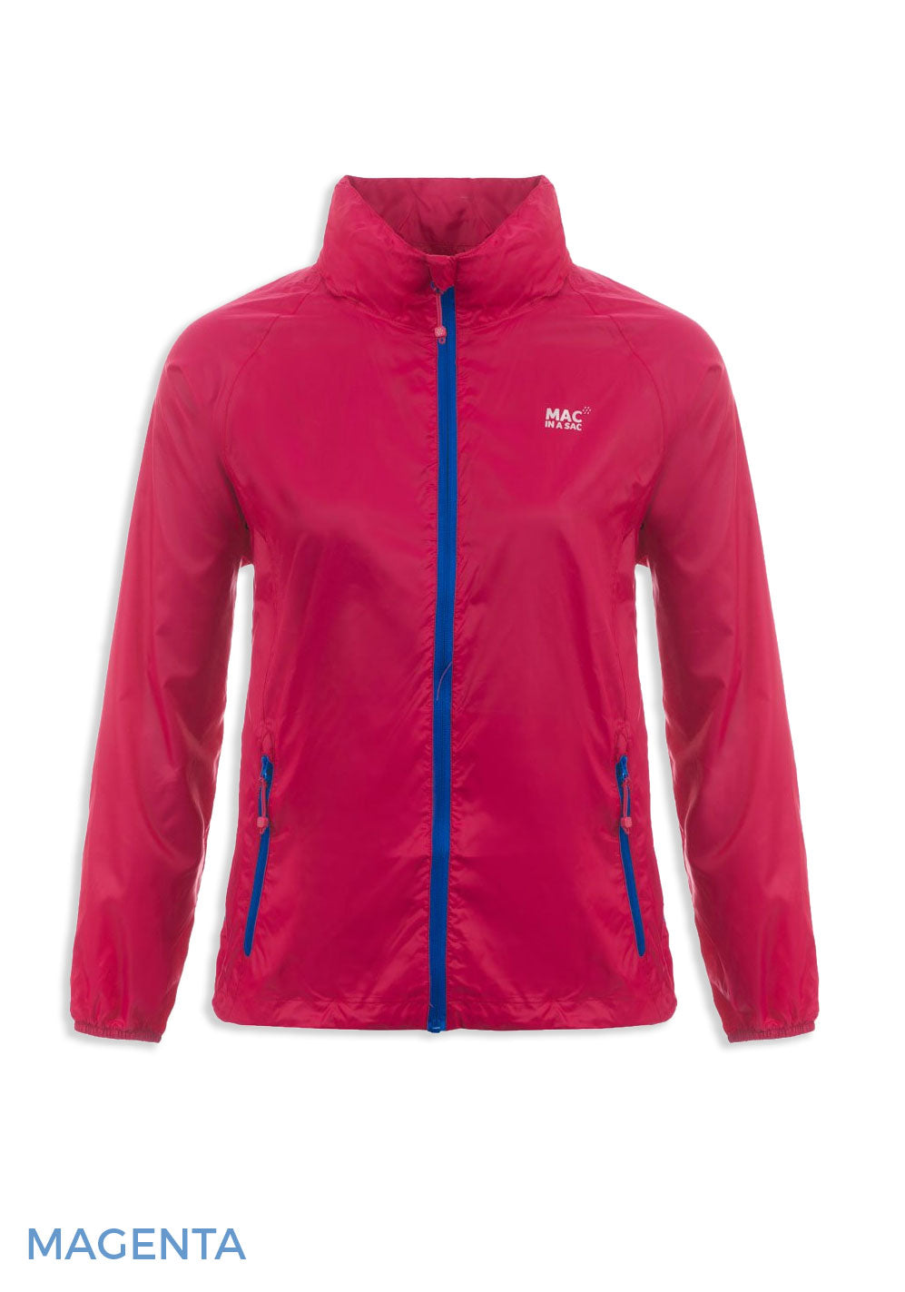 Magenta Packaway Waterproof Jacket by Lighthouse