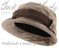 Jack Murphy ladies Waterproof Malvern hat chinchilla