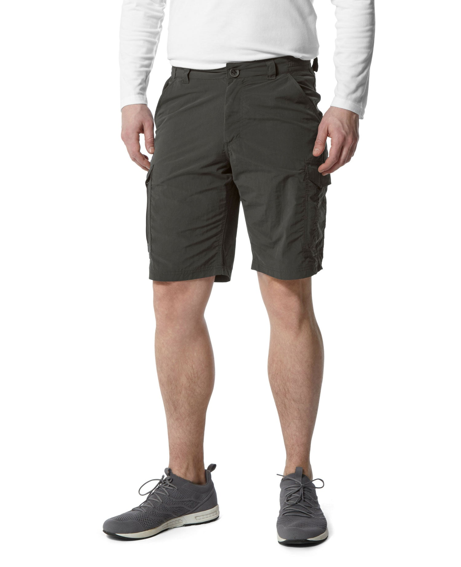 Black Pepper Craghoppers NosiLife Cargo Pockets II Shorts