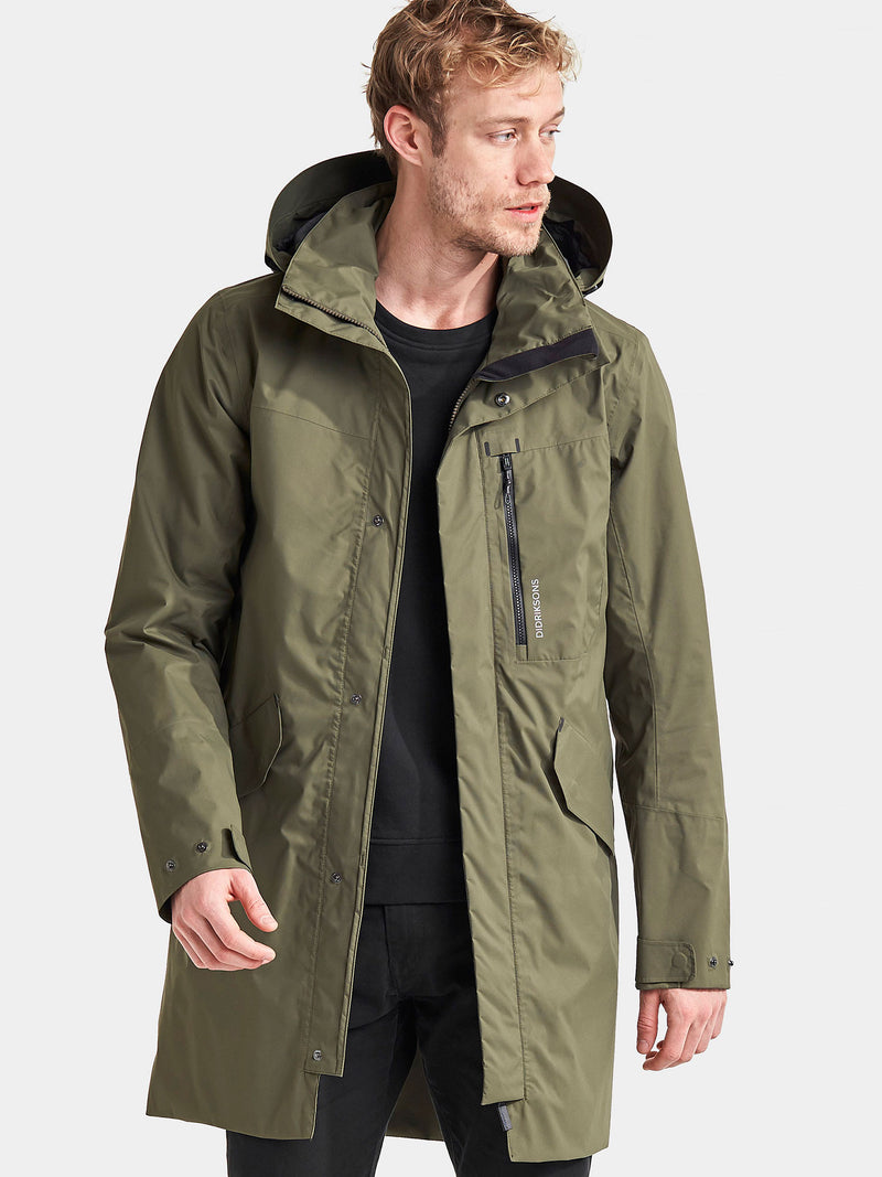 Didriksons Man's Parka in Green