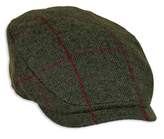 Heather Maxwell Tweed Bond Style Cap with extended peak