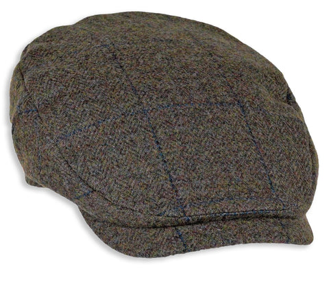 Heather Maxwell Tweed Bond Cap | Navy Overcheck