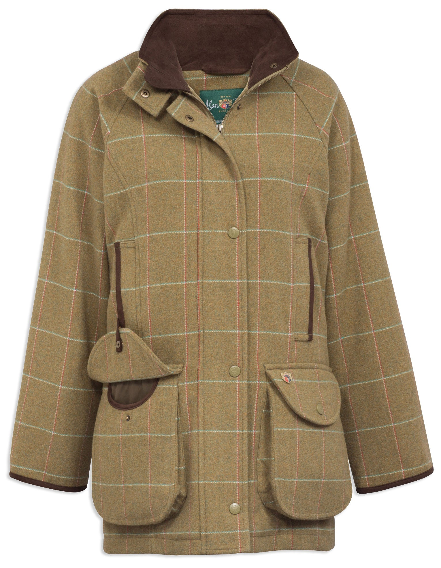 Alan Paine Combrook Ladies Tweed Field Coat | Meadow
