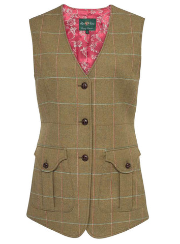 Combrook Meadow Tweed Tailored Waistcoat by Alan Paine