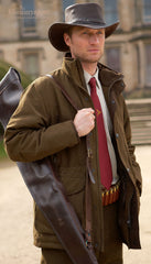 man wearing Sherwood Forest Gadwall Jacket