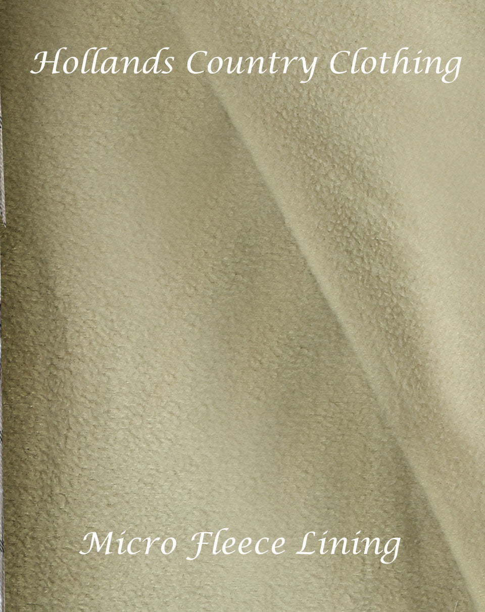 Micro fleece is a soft, fine weave fleece, which is light and not bulky, when coupled with a shirt outer, it offers exceptional warmth without feeling heavy and constricting.
