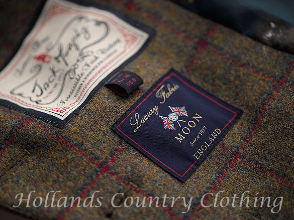 traditional english tweed from moon's of  Leeds