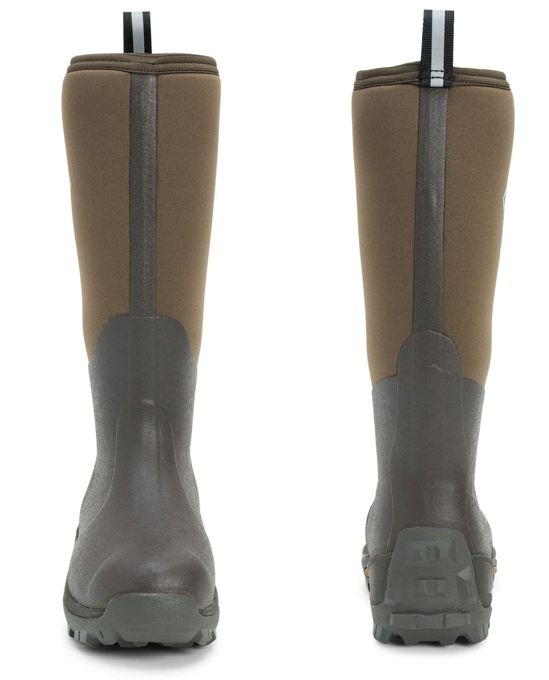 Front and Back View Wetland Wellingtons by The Original Muck Boot Company