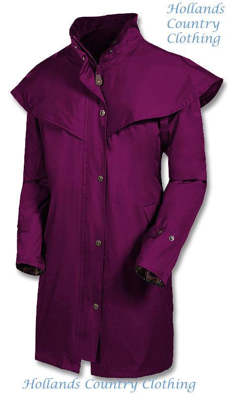 mulberry Outrider II 3/4 Length Rain Coat by Target Dry.