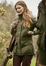 Burnham Waterproof Jacket by Musto in Deep Green Moss
