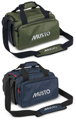 Musto Cartridge Bag | Dark Moss & True Navy