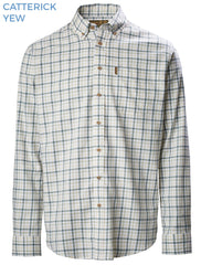 Musto Classic Button Down Shirt Carrick Yew