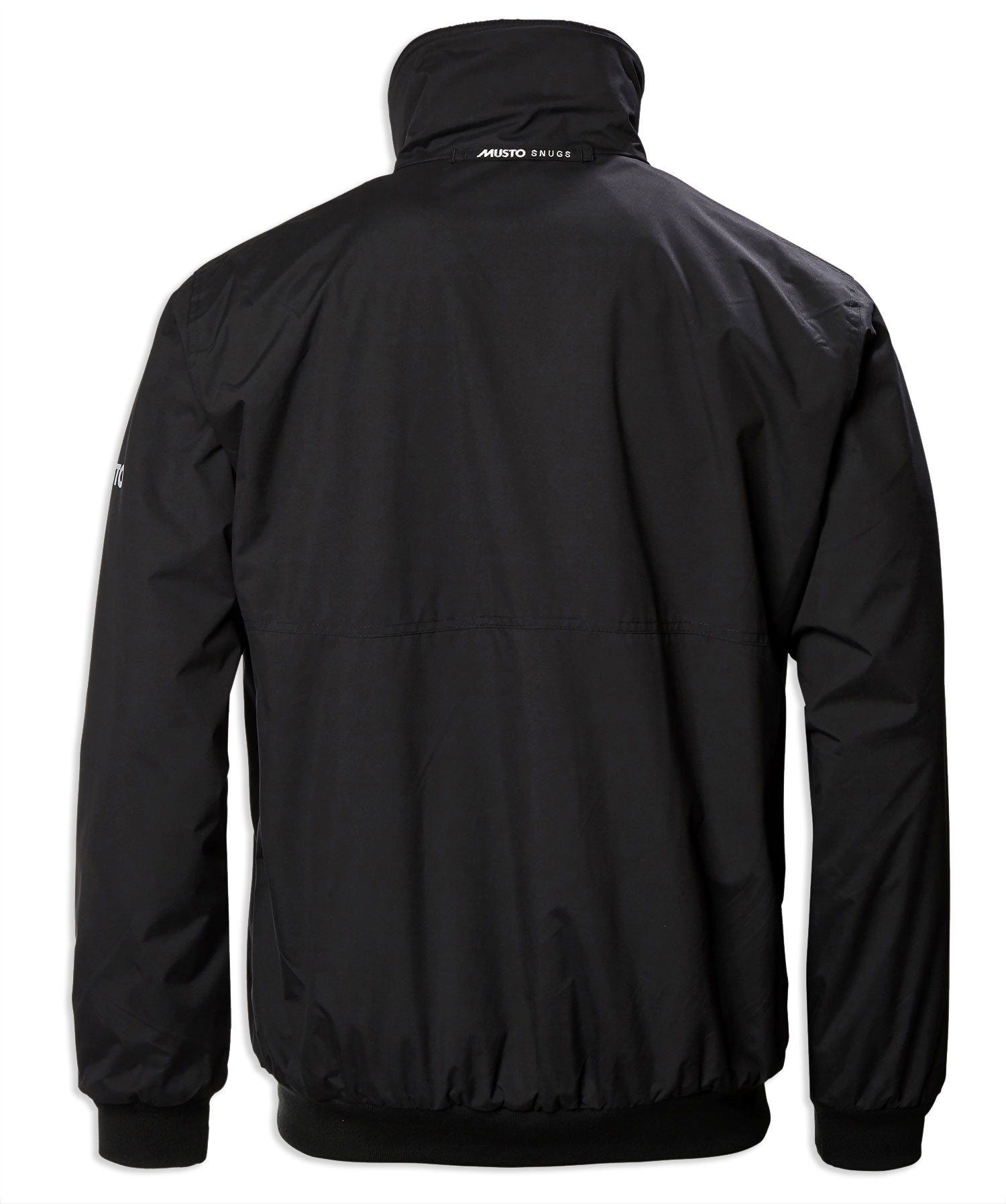 Back view Black Musto Classic Snug Blouson Jacket