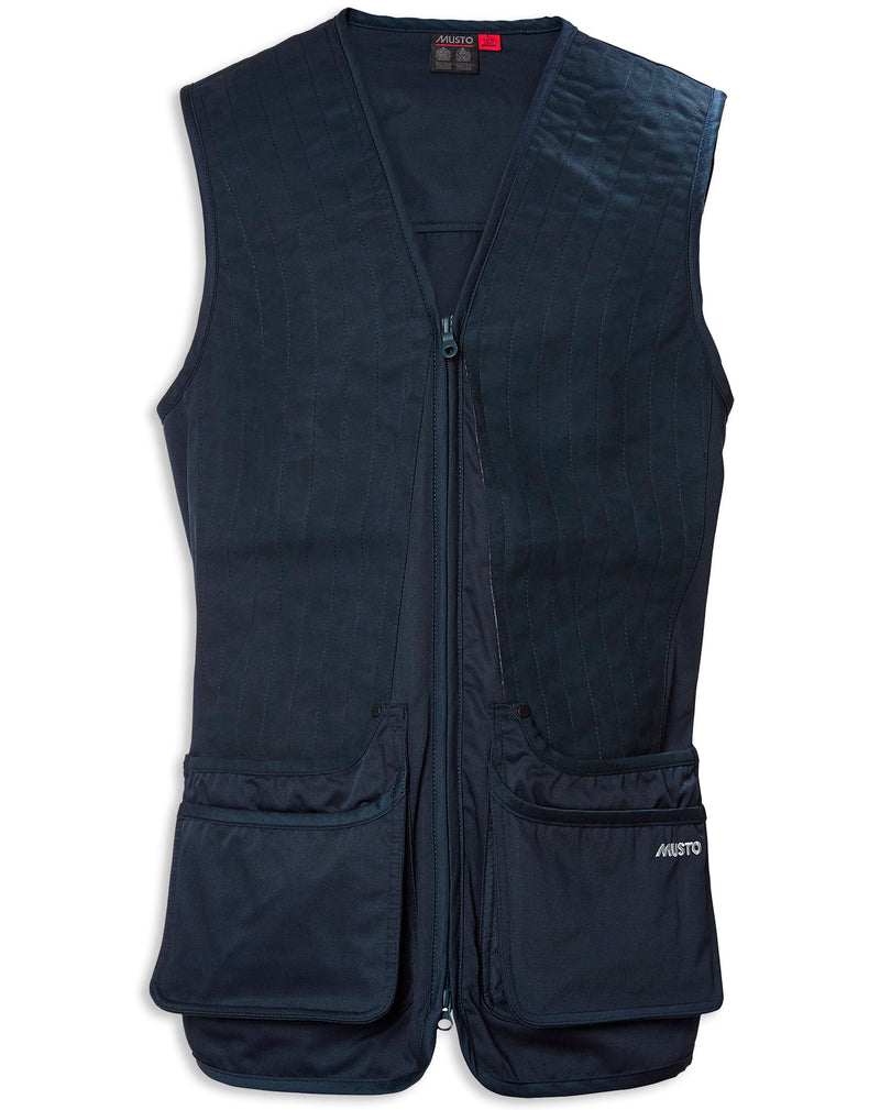 Navy Musto Clay Shooting Vest