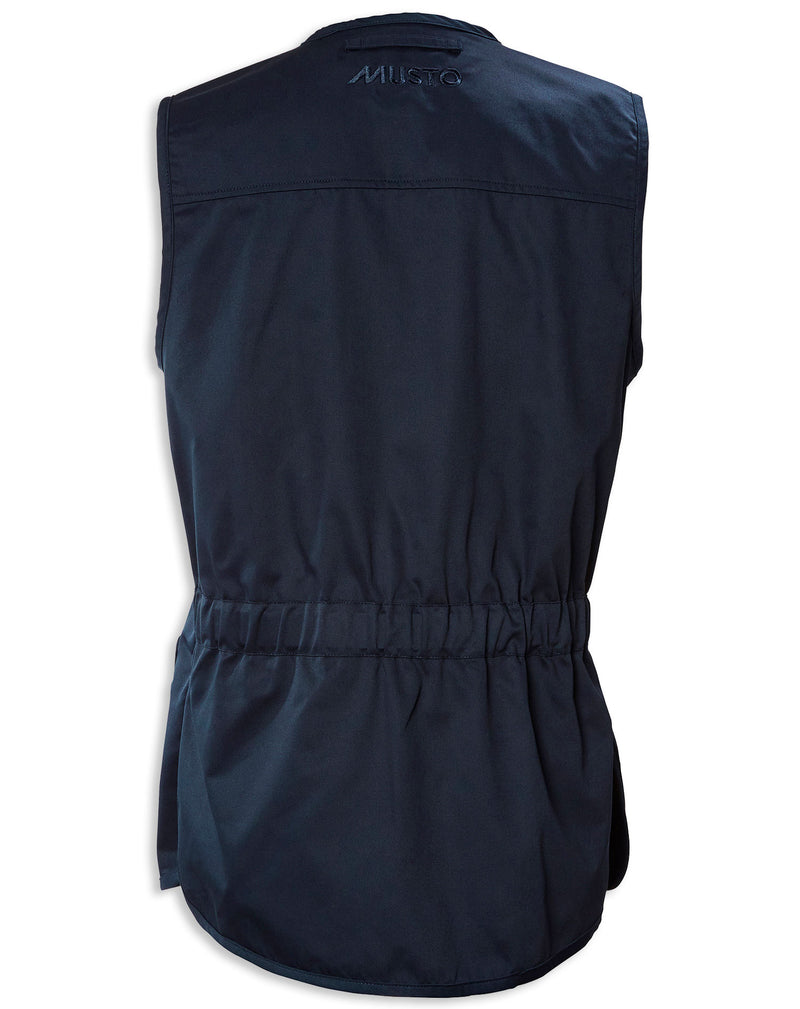 Back Navy Musto Clay Shooting Vest