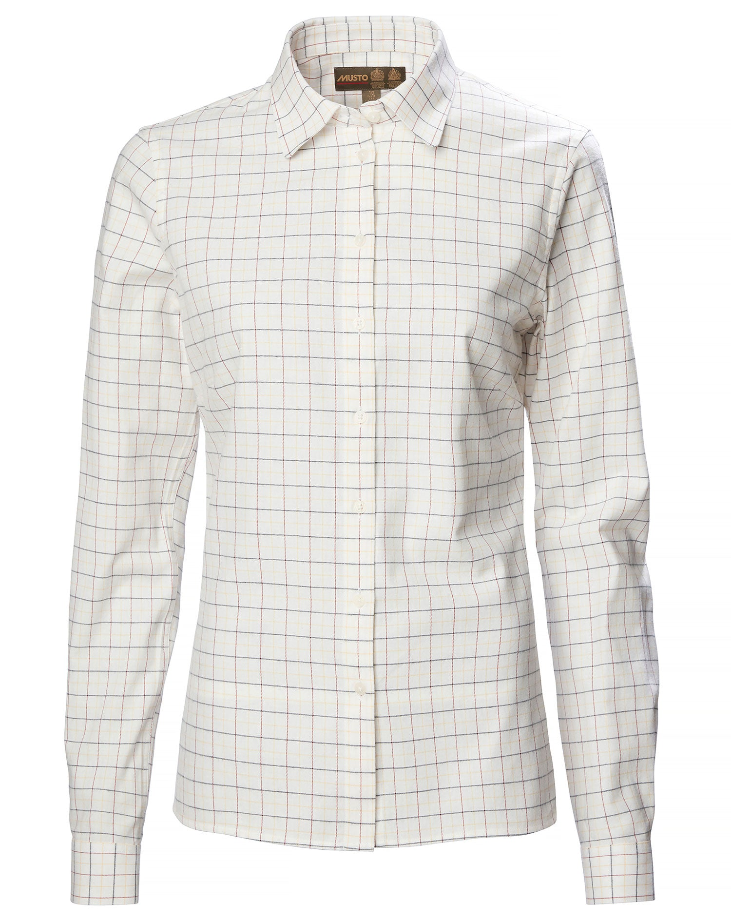 Cotswold Green Tattersall Ladies Country Shirt by Musto