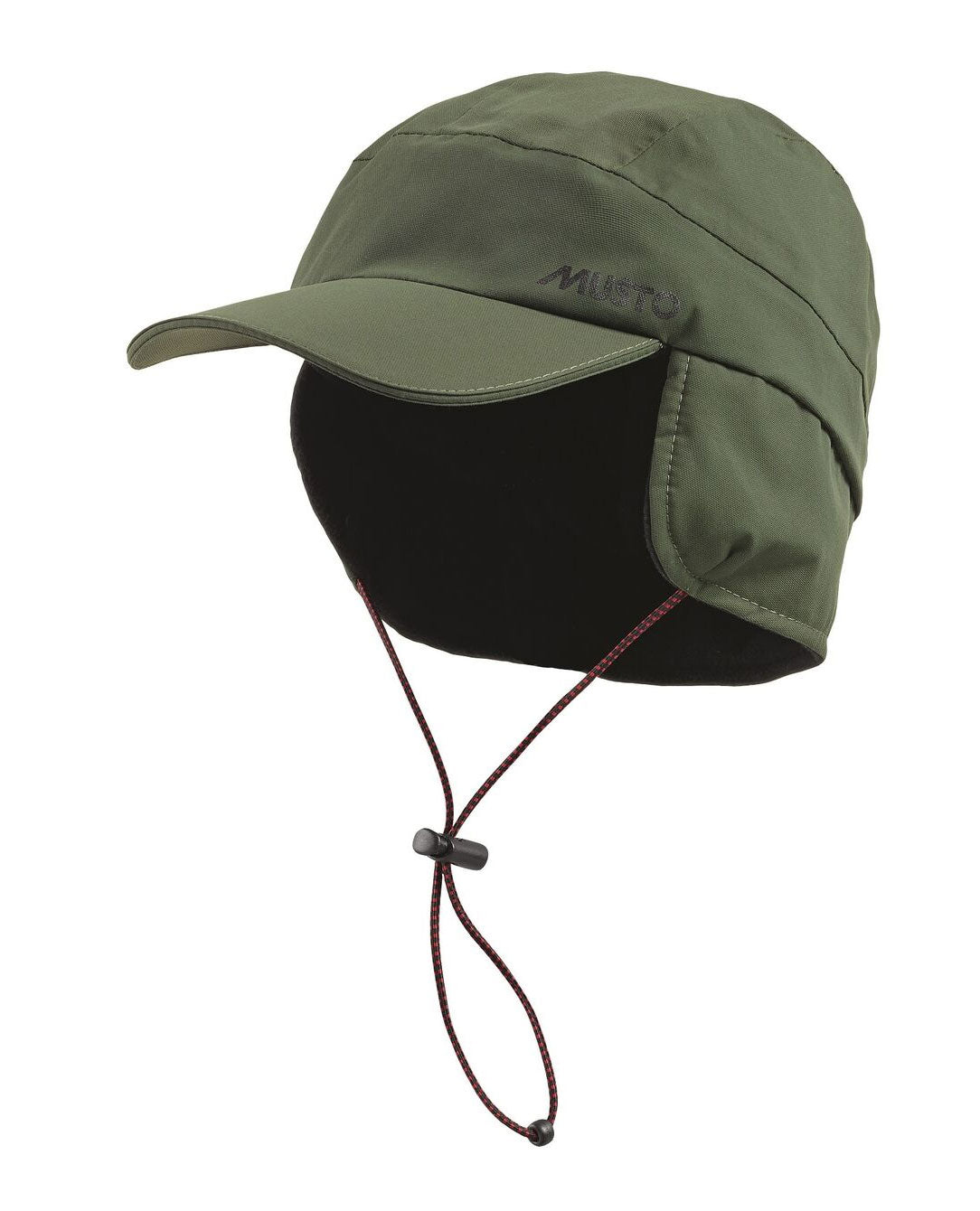 Moss Green Fleece Lined Waterproof Cap by Musto