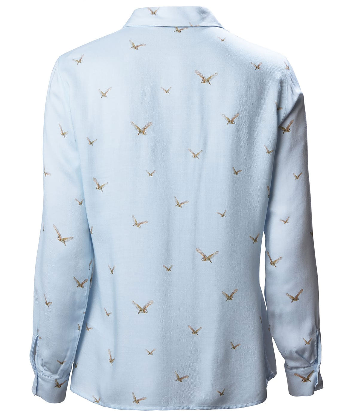 Light Blue Musto Ladies Country Pattern Shirt | Barn Owl