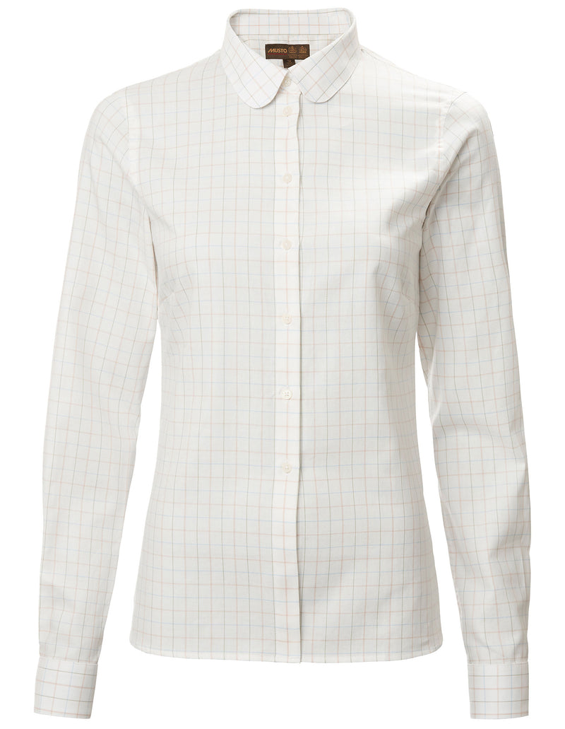 Musto Ladies Tattersall Check Shirt | Cotswold