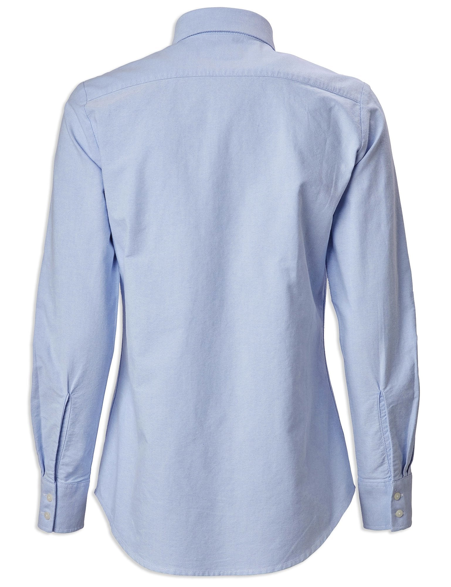 Back View Musto Ladies Oxford Long Sleeve Shirt