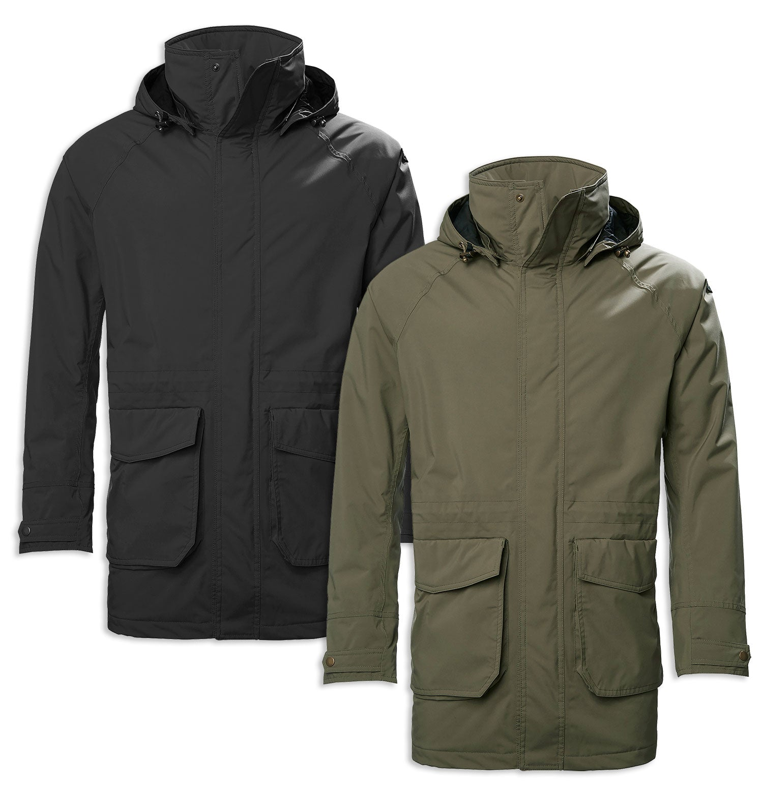 Musto Country Primaloft Rain Jacket | True Black, Rifle Green