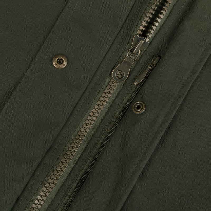 Dark Moss Two Way YKK Zip