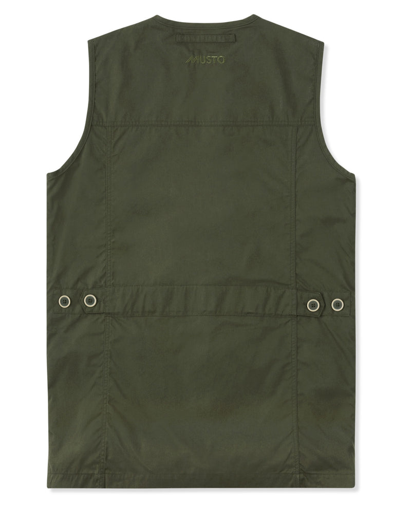 Back View Musto Shooting Vest