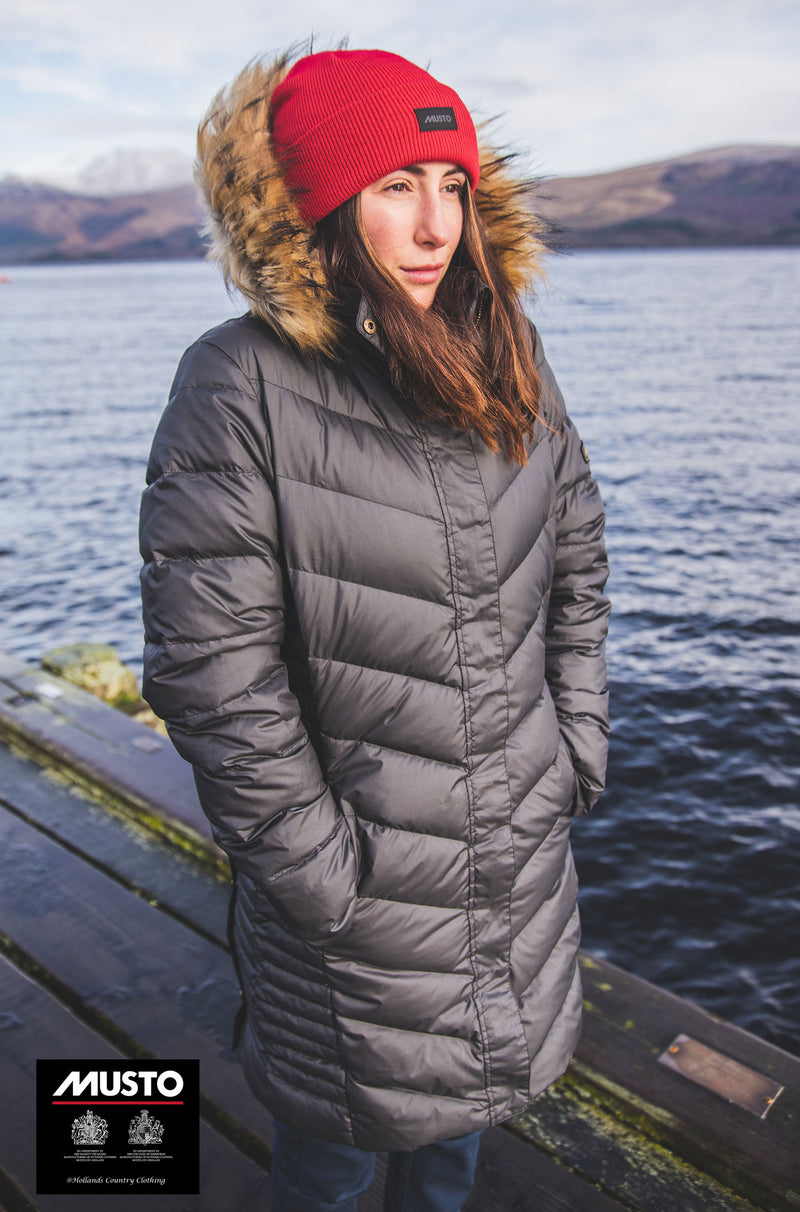 Quilted down lined Musto Parka coat