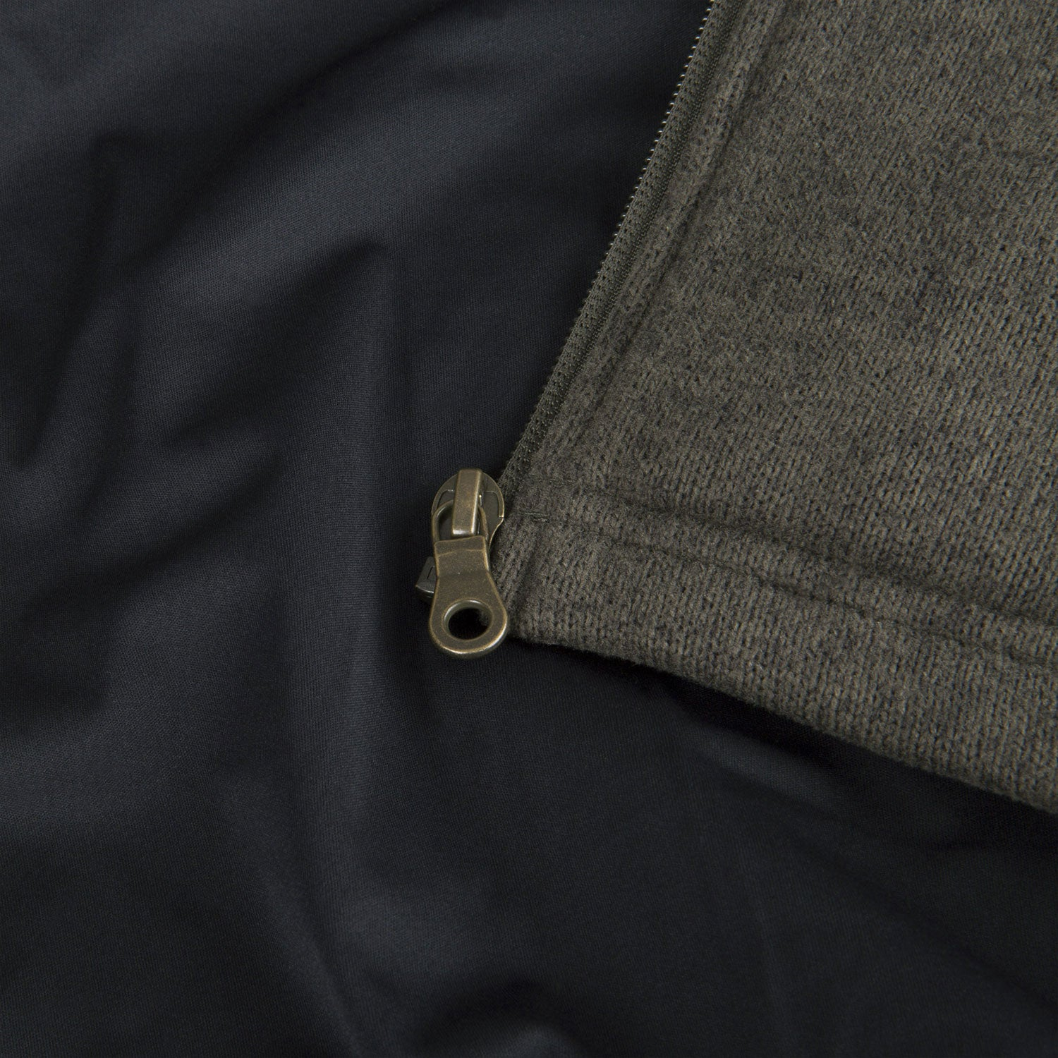 Zip detail fleece